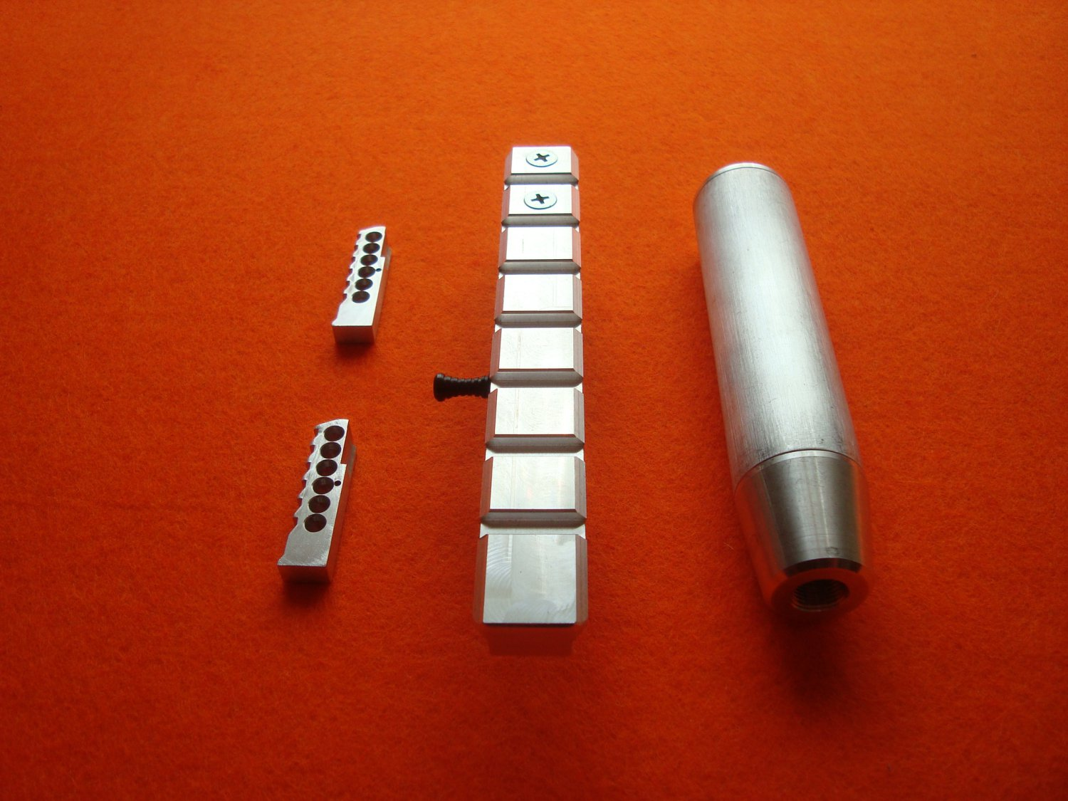 Tuning details MP-61 in kit: magazine, sighting bar Weaver and weighting agent, parts made to order.