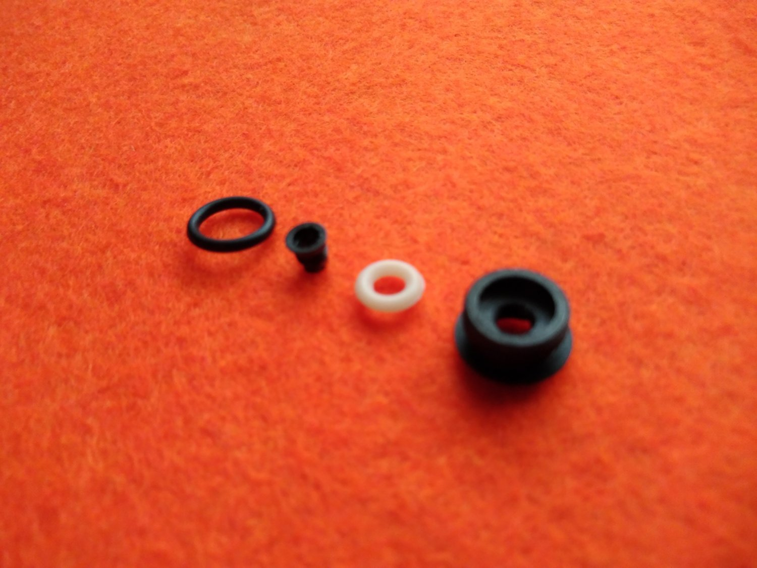 Valve seat MP-661K, MP-654K with disassembly design replacement sealing O-rings, piece made to order