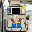 Car Storage Bag Back Seat Cover Protector Cartoon Shoes Styling Kids Travel Joy