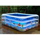 Inflatable Swimming Pool Swimming Kids Water Play Center Outdoor Family Fun New