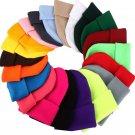 Winter Hat Women Men Beanie Ski Cap Knitted Warm Hip Hop Style Cotton Wool New
