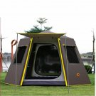 Automatic Outdoor Camping Tent Hexagonal Aluminum Pole 3-4 Persons 245x245x165CM
