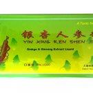Ginkgo Biloba & Ginseng Extract oral liquid 10 x 10 ml vials in a box