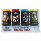 JURASSIC WORLD Bath and Shower Gel Travel Pack 4 x 75 ml