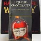 Whisky Liqueurs Doulton Courvoisier Cognac Chocolate Liqueurs (Hard To Find W...