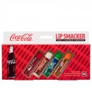 GIFT BOX Lip Smacker Coca Cola, Vanilla, Lime, Cherry Lip Balms Pack of 4 - B...
