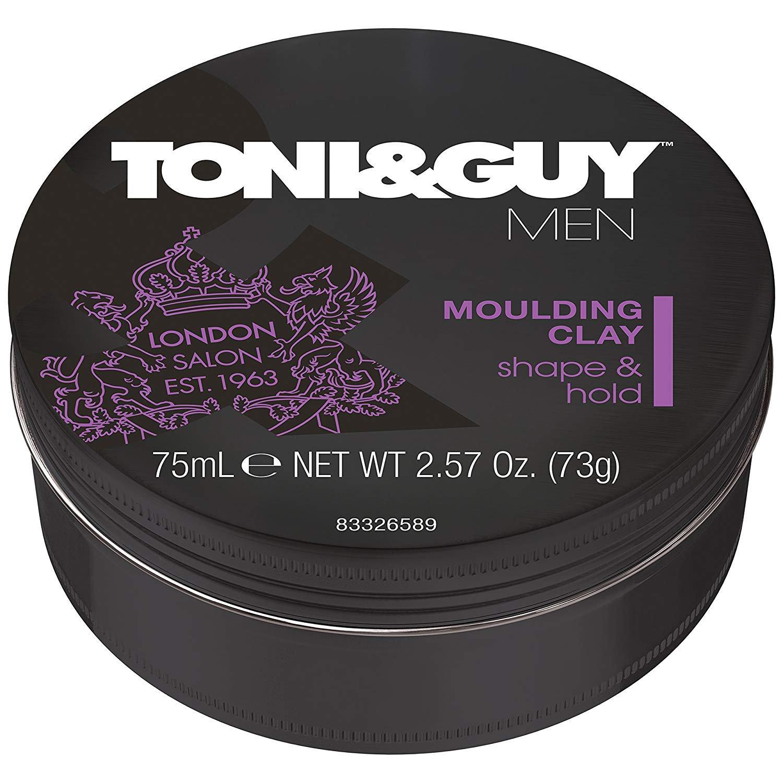 Toni&Guy Men Moulding Clay, 75ml - Toni & Guy Hair Care Styling Product 2.57 oz