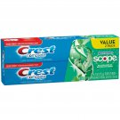 Crest Complete Multi-Benefit Whitening + Scope Minty Fresh Flavor Toothpaste 2PK