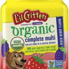 L'il Critters Organic Complete Multivitamin Gummies for Kids 90 Ct Gluten Free