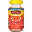 Nature Made Kids First Vitamin C Immune Support Gummy- Tangerine, 110 Gummies