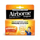 Airborne Crafted Blend Immune Support Vitamin C 1000 mg Effervescent Tablets - Zesty Orange - 10 ct