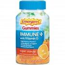 Emergen-C Vitamin C Immune Plus Gummy with Vitamin D - Super Orange, 45 Gummies