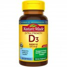 Nature Made Vitamin D3 Extra Strength 25 mcg (5000 IU) SoftGels 180 ct