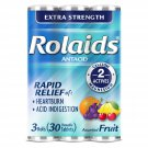 Rolaids Extra Strength Antacid Chewable Tablets - Assorted Fruit Flavor - 30 ct