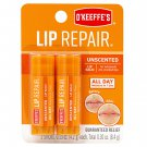 O'Keeffe's Lip Repair Unscented Lip Balm 2 Pk - 0.15 oz each