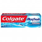 Colgate Max Fresh Toothpaste with Whitening Breath Strips - Cool Mint - 1.0 oz