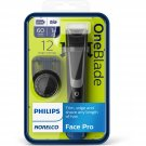 Philips Norelco OneBlade Face Pro Rechargeable Men's Electric Shaver/Trimmer - QP6510/70
