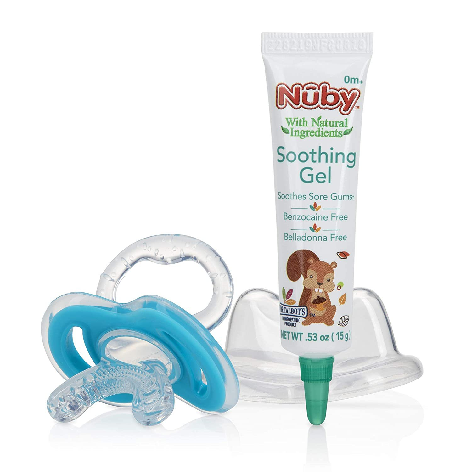 Nuby Dr. Talbot's Soothing Gel with Natural Ingredients 0.53 oz with Gum Eez Teether