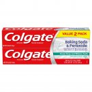 Colgate Baking Soda & Peroxide Toothpaste, Frosty Mint, 6 oz (170 g) 2-PACK