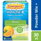 Emergen-C Immune + Vitamin C 1000 mg PLUS Vitamin D & Zinc Drink Mix - Citrus - 30 Packets