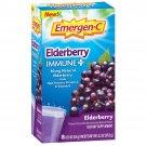 Emergen-C Immune Plus Elderberry Vitamin C + D3 & Zinc Drink Mix, 18 Packets