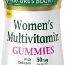 Nature's Bounty Women's Multivitamin Gummies with Collagen, Raspberry, 90 ct