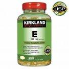 Kirkland Signature Vitamin E, 400 IU (180 mg), 500 Softgels