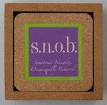 """Fine Whines"" Sometimes Naughty, Occasionally Behaved! Coasters"