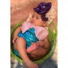 Sleeveless Blue Onesie For Baby