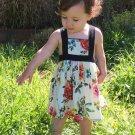 Lovely Sleeveless Baby Flowers Girls Dresses