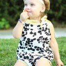 Lovely Printing Baby Girls Sets Tank With Shorts