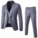 Business Men Formal Clothing Three Piece Sets