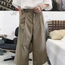 Japanese Style Solid Loose Harem Pants
