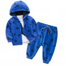 Star Hooded Three Pieces Baby Sets