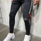 Easy Matching Patchwork Ripped Jeans For Men
