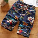 Casual Printed Straight Short Pants For Men