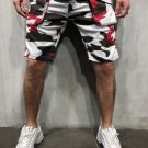 Casual Pocket Camouflage Printed Men Five Pants