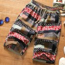 Mixed Color Printed Half Length Pants For Men