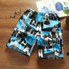 Beach Colorblock Printing Short Pants For Men