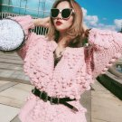 Korean Loose Small Knitted Balls Cardigans For Women