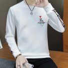 Letter Printed Long Sleeve Mens Sweatshirts