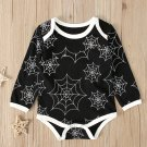 Lovely Spider Web Printed Baby Boy Rompers