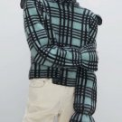 Plaid Ruffled Sweaters For Women