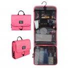 BAGSMART Waterproof Travel Toiletry Bag With Hanger Cosmetic Packing Organizer W