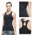 Fitness Women Sexy Tight Yoga Top Gym Sports Vest Sleeveless Shirts Tank Tops Ru