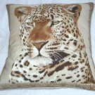 Magnificent Leopard cushion