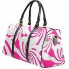 Pink Pin Wheel SMALL Travel Bag