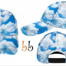 Clouds Printed Cap C