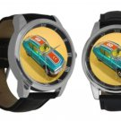 Matchbox Citroen Leather Band Large Dial Watch - M 213