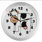 Millie The Cow Wall Clock